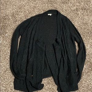 Sweater cardigan!